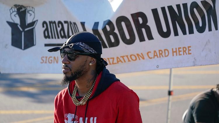 Amazon union drive in New York nears signature milestone
