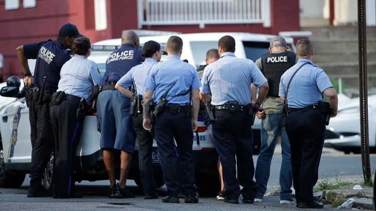 Gunman Firing at Police