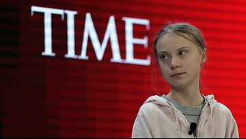 Greta Thunberg tells Davos economic forum climate awareness alone isn't enough