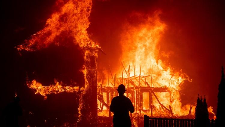 Northern California Wildfire November 2018 file photo