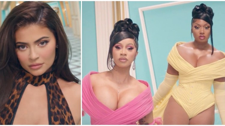 Kylie Jenner Cameos In Cardi B And Megan Thee Stallion S Wap Music Video Watch Wkyc Com