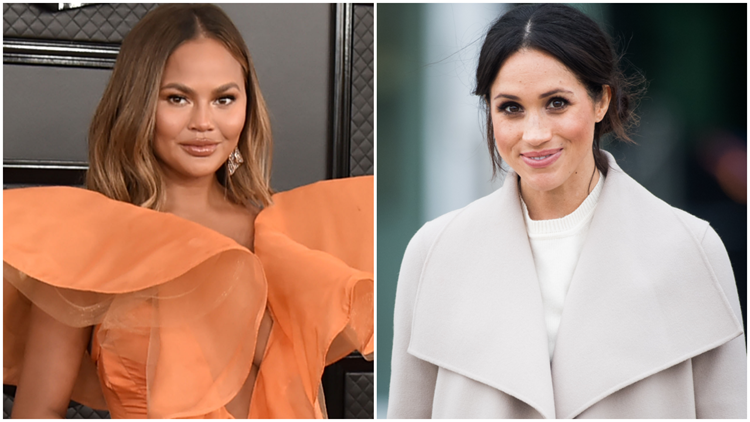 Chrissy Teigen Reveals Her Friendship With Meghan Markle -- and If She Got 'Extra Tea' After Oprah Interview
