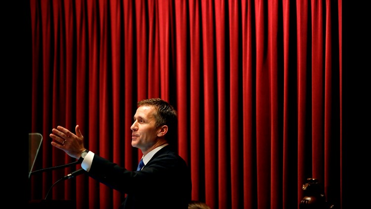 Missouri Gov  Eric Greitens took charity donor list, lied about its