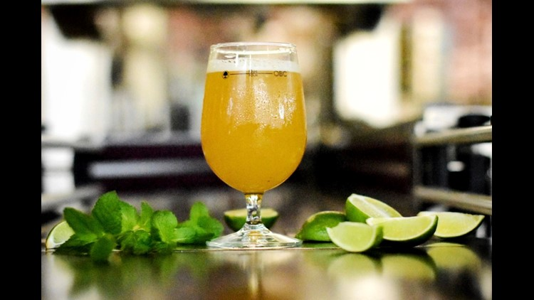 The latest craft brewing trend is beers made with wine grapes or crafted after cocktails like Moscow Mule Ale, Rosé Saison or Sauvignon Blanc Gose.