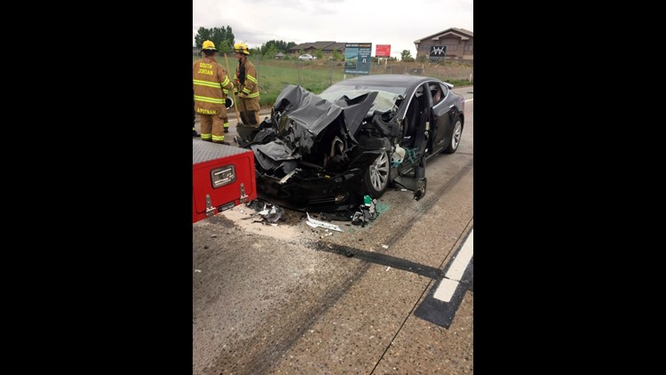 Tesla driver issued citation after crash involving 'autopilot' technology