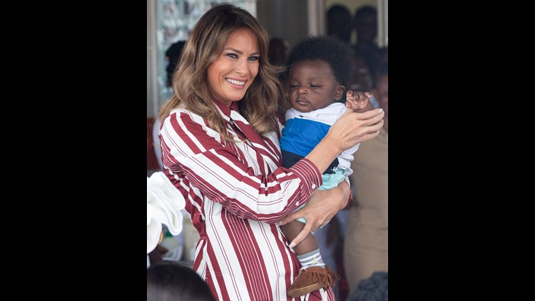 Melania Trump Arrives in Nairobi, Kenya For a Landmark Visit