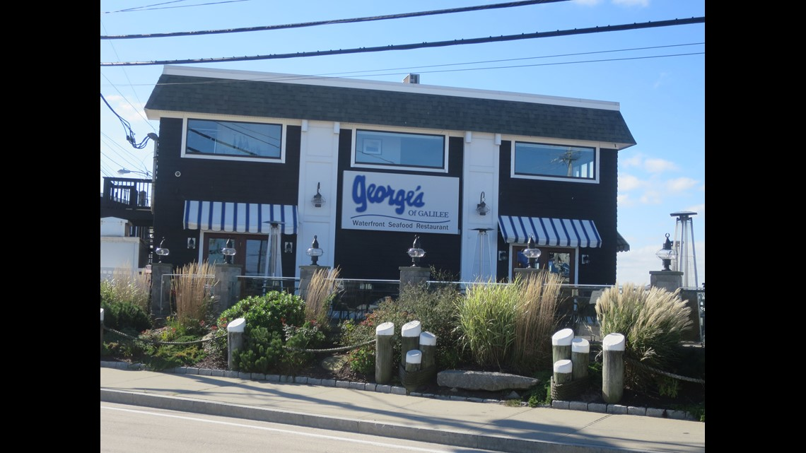 Georges Of Galilee Is A Very Popular Local Institution In Narragansett And One The Few Restaurants Area Open All Year