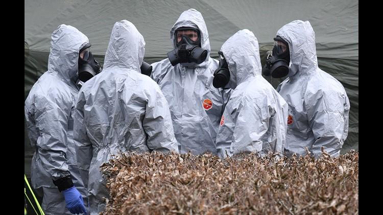 British Police Identify Russian Suspects In Novichok Attack