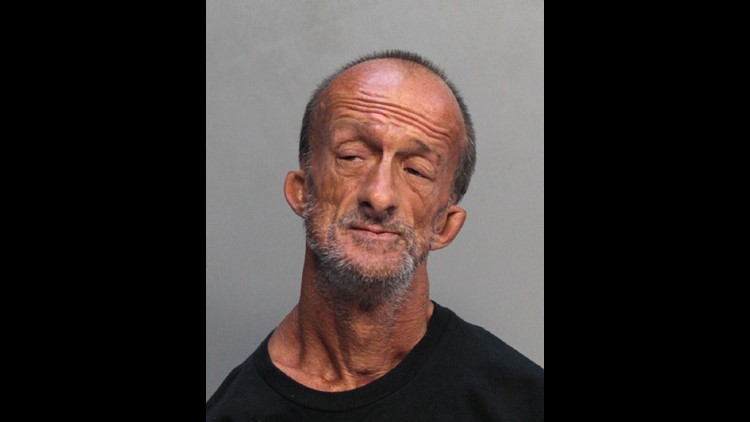 Jonathan Crenshaw is well-known in Miami Beach as a street artist who uses his feet to paint. Police say he also used those feet to stab a tourist earlier this week.
