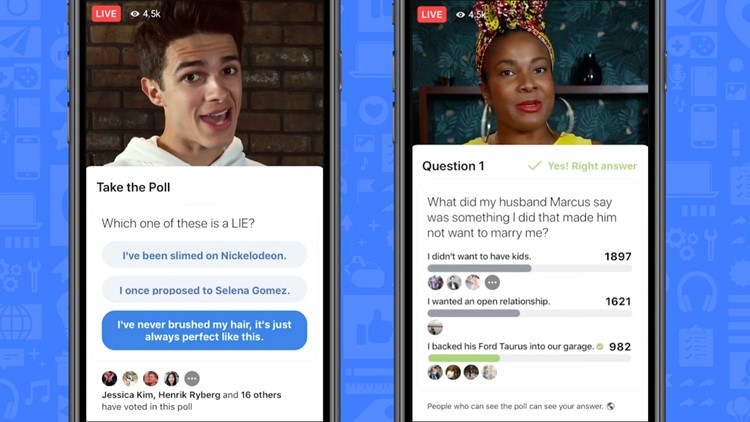 Facebook takes on HQ Trivia with live game shows | wkyc com