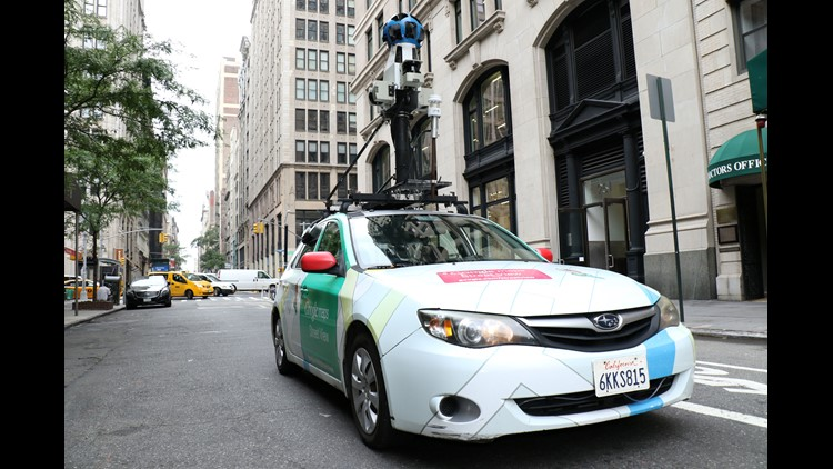 A gas leak every mile: Google Street View cars find problems