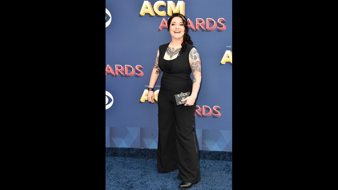 5982facc67 Ashley McBryde on the red carpet during the 53rd Academy of Country Music  Awards at the MGM Grand Garden Arena Sunday