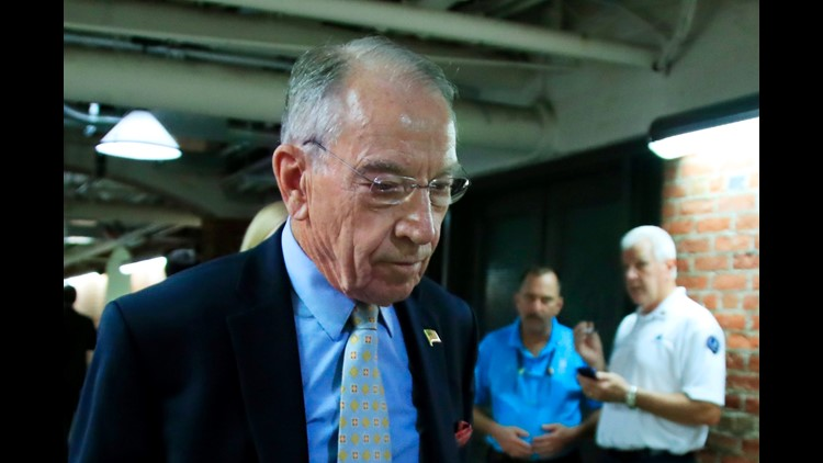 GRASSLEY: No Need For FBI To Investigate Supreme Court Nominee Kavanaugh Again