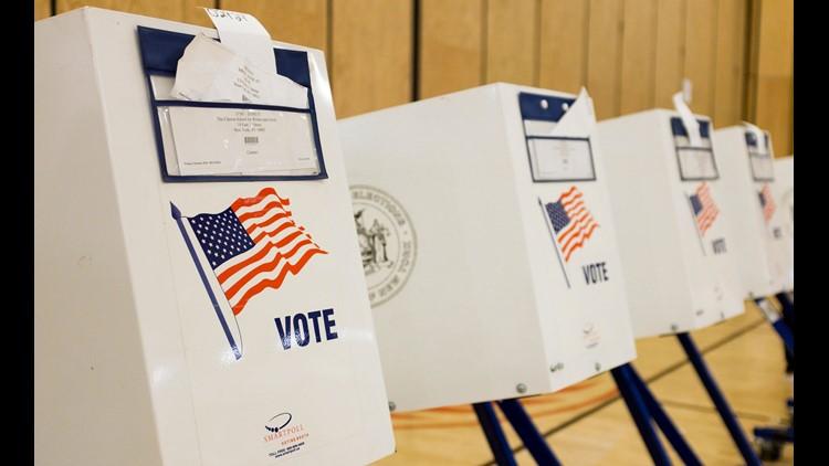 Epa Usa New York Primary Election Voting Pol Elections Usa Ny