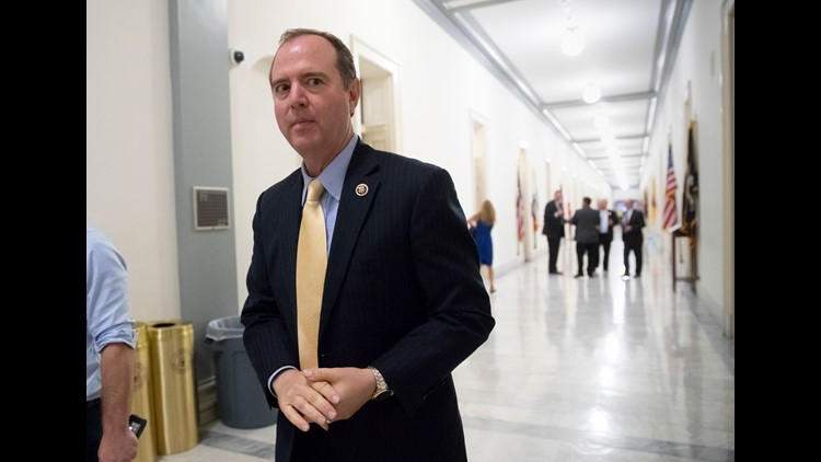 "The top Democrat on the House Intelligence Committee blasted Trump suggesting he ""acts like he's compromised."" Rep. Adam Schiff D-Calif. was responding to Trump's apparent acceptance during a news conference last week of Putin's denial that"