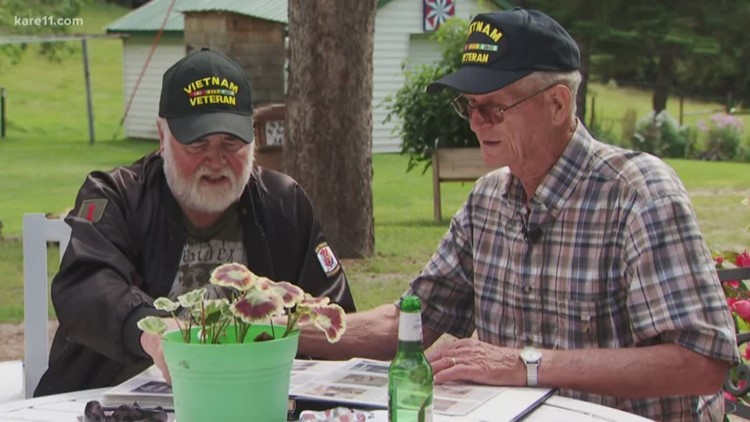Best buddies during Vietnam War reunite after 53 years