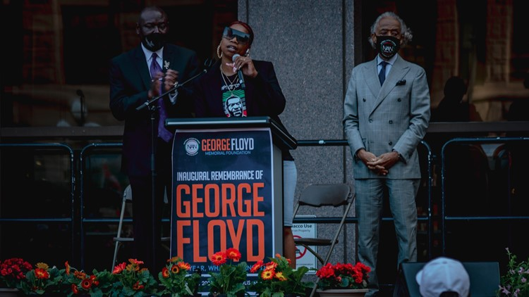 'Something changed here'   Family, community remember George Floyd in Minneapolis rally and march