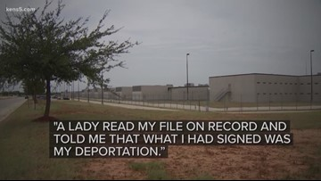 A Honduran mother says she was tricked into signing her own deportation papers