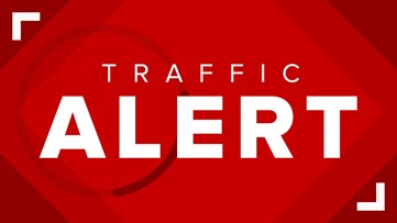 TRAFFIC ALERT | Three lanes closed on I-90 westbound near E. 72nd due to road debris