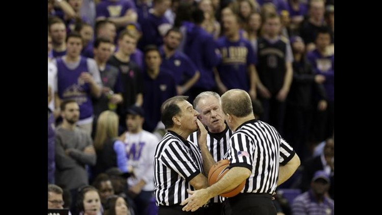 Referees try to turn heads, earn spot in NCAA Tournament