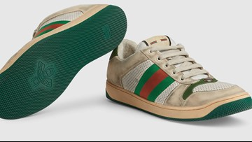 Gucci is selling dirty sneakers with scuff marks for $870
