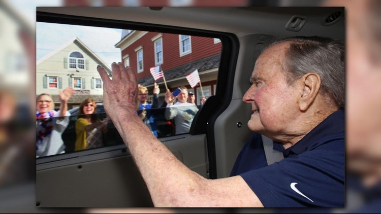 Just a couple weeks after leaving the hospital, former President George H.W. Bush is off to his vacation home in Maine.