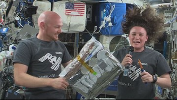 Meet the Texas City native behind astronauts' Thanksgiving meal on ISS
