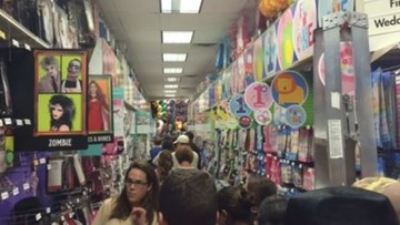 Forget 'Back to School' sales. Some stores are already putting out Halloween stuff
