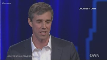 Beto O'Rourke teases presidential run in sit down interview with Oprah