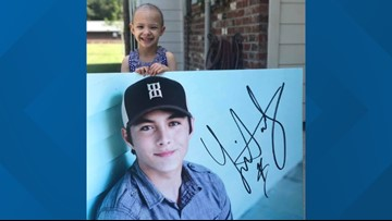 'American Idol' winner Laine Hardy surprises little girl battling cancer with soulful serenade