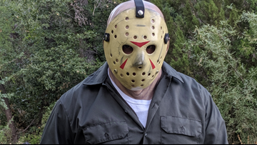 Could you survive Jason? Real-life horror game in Arizona puts you against the infamous 'Friday the 13th' killer