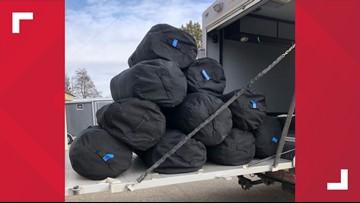 600 pounds of marijuana seized during Illinois traffic stop