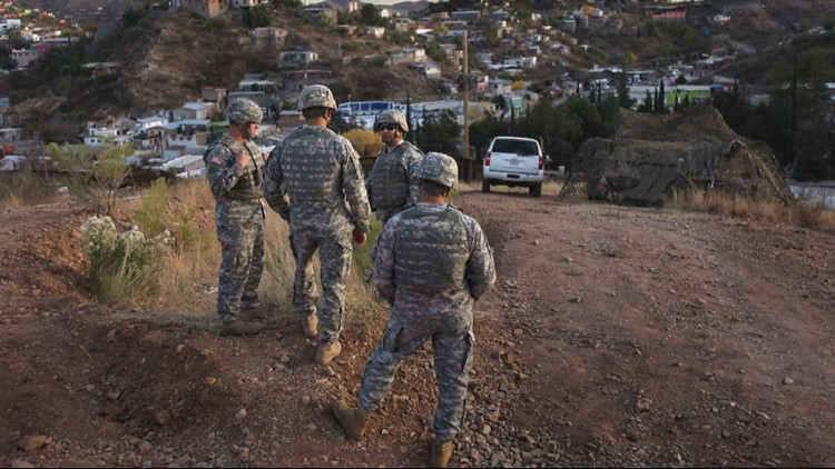 Trump wins pledges of 1600 National Guard troops for Mexico border duty