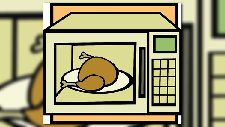 People are asking their parents how long it takes to microwave a turkey and it's hilarious