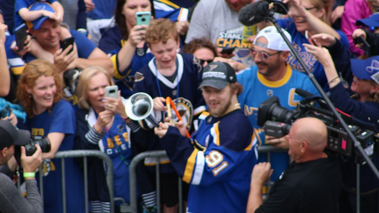 blues stanley cup parade