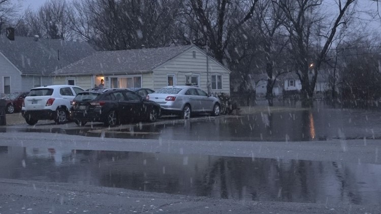 Cahokia flooding