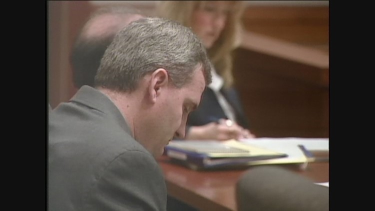 Michael Blagg in court in 2004.