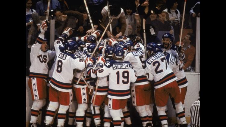 Team USA celebrates _the Miracle on Ice__23842417