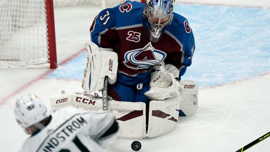 Colorado Avalanche beat Los Angeles Kings 4-1 NHL 2021 ...