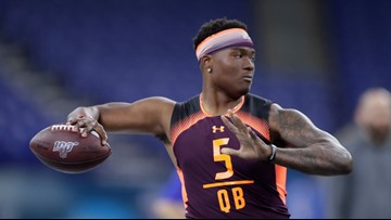 Ohio State QB reflects on NFL dream to come true | Dwayne Haskins: It's all about faith, family and football