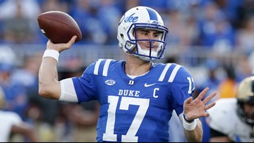 Social media reacts to New York Giants surprise selection of Duke QB Daniel Jones at No. 6