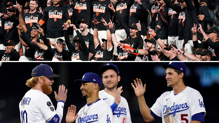 Giants, Dodgers first two MLB teams to secure playoff spots
