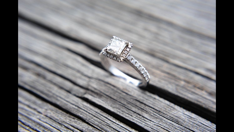 Who says diamonds are a girl's best friend? Here are some more affordable options for couples looking to cut engagement costs.