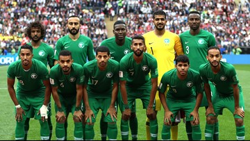 Saudi Arabia's World Cup team plane catches fire in flight