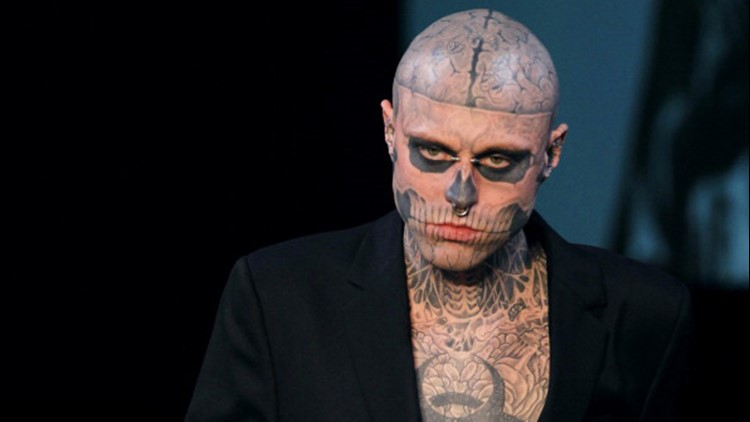 Manager of Rick 'Zombie Boy' Genest believes death was an