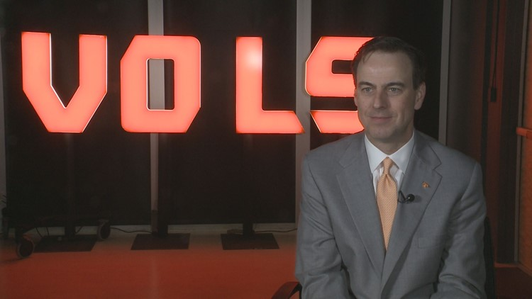 John Currie on leave as Tennessee Vols AD after meeting with admin