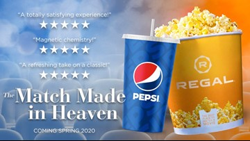 Regal to start carrying Pepsi instead of Coke products starting this Spring