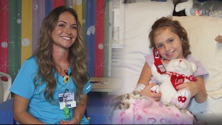'It made me a fighter' | Nurse accomplishes lifelong dream of being a nurse after battling leukemia