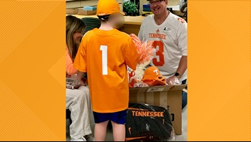 'The joy on that young man's face was priceless' | UT fan bullied for homemade shirt gets Big Orange delivery