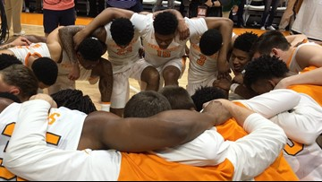 Audience of One: Tennessee men's basketball's faith lifts team to greater heights